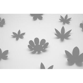 3D Szürke virág csomag