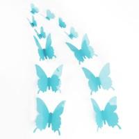 3D Türkíz pillangó csomag