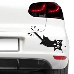 Autós matrica -  Potyautas cica