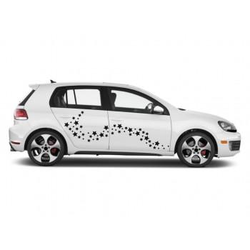 Auto nálepka - Hvězdy (balení)