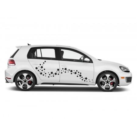 Autós matrica - Csillagok (csomag)