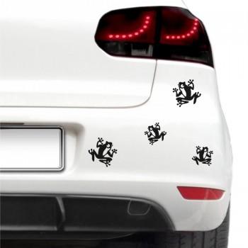 Auto nálepka - Žabky
