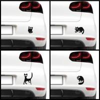 Autós matrica - Ijedt cicák (csomag) 2