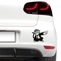 Autós matica - Dühös majom
