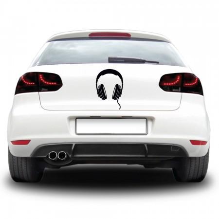 Autós matrica - Fejhallgató