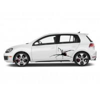 Autós matrica - Pók
