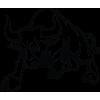 Auto nálepka - Nervózní býk