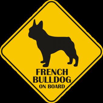 Autós matrica - Francia bulldog