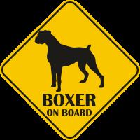 Autós matrica - Boxer