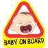 Baby on board - Síró kisfiú
