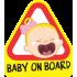 Baby on board - Síró kislány