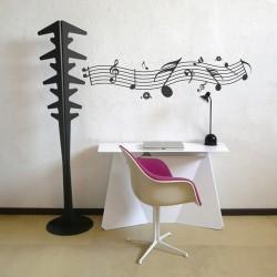 Stilizált hangjegyek