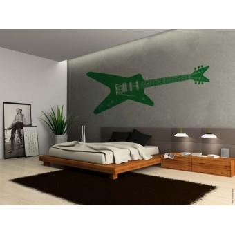 Rock gitár a nyolcvanas évekből