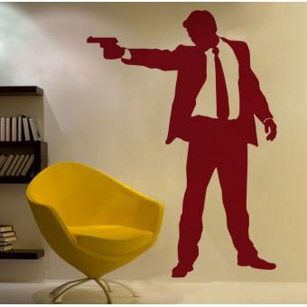 Fegyveres férfi