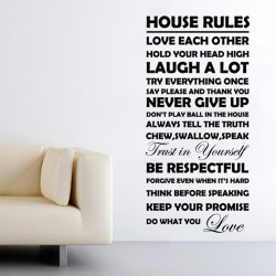 House rules - Black Friday 2019 AKCIÓ