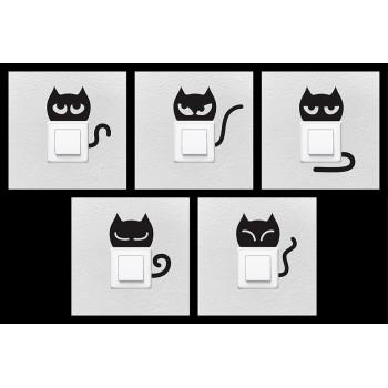 Nálepky balení: pro zásuvky i spínače - koťata