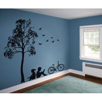 Odpočinek ve stínu stromu