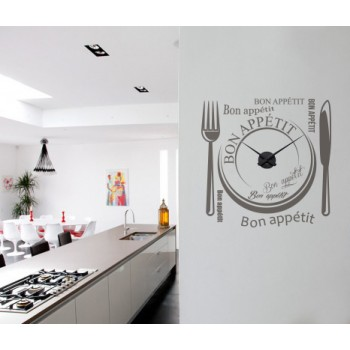 Bon Appétit + Nástěnné hodiny
