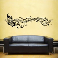 Zenés pillangó