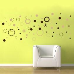 Buborékok - Színes matrica csomag