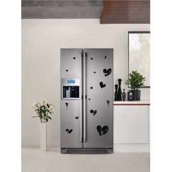 Hűtő matrica - Szerelmes cicák
