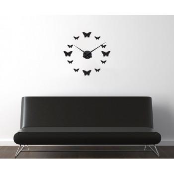 Hodiny s motýly + Násténné hodiny