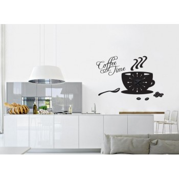 Coffee Time + nástěnné hodiny