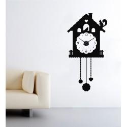 Kakukkos óra állatokkal + falióra