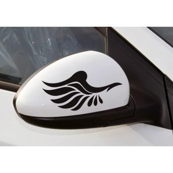 Nálepka pro zpětná zrcátka - Křídla