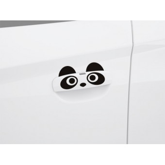 Autós matrica ajtófogantyúra - Panda