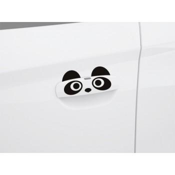 Nálepka rukojeť dveří - Medvídci panda