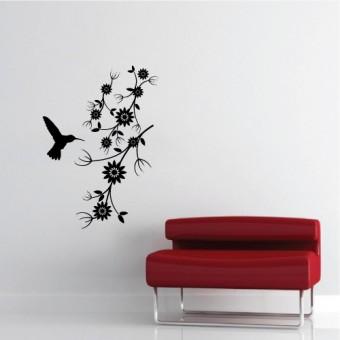 Kolibri + Swarovski kristályok