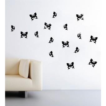 Pillangók + Swarovski kristályok