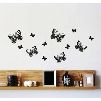 Motýli všude