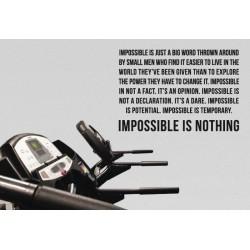 Nincs lehetetlen - motivációs matrica