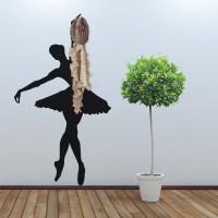 Állófogas matrica - Balerina