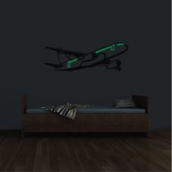Foszforeszkáló matrica - Éjszakai repülő