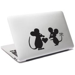 Egérke szerelem (Laptop matrica)