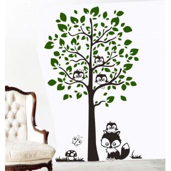 Baglyocskák a fán