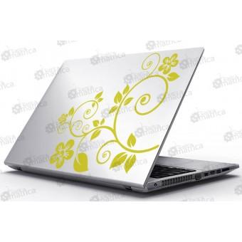 Laptop Matrica - Virágos kompozíció
