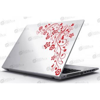 Laptop Matrica - Virágfüzér