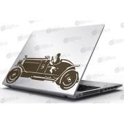 Laptop Matrica - 1942-es autó