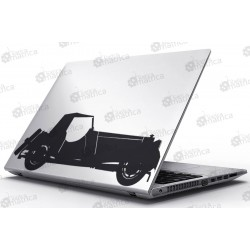 Laptop Matrica - Régi autó