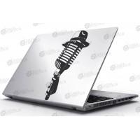 Laptop Matrica - Kalapos mikrofon