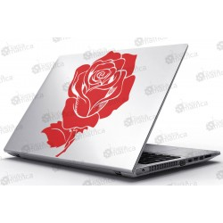 Laptop Matrica - Rózsa