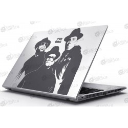 Laptop Matrica - Run DMC