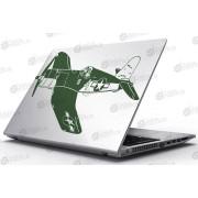 Laptop Matrica - II. Világháborús vadászrepülő