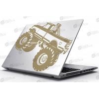 Laptop Matrica - Monster Truck
