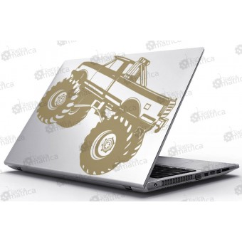 Laptop Matrica - Monster Truck
