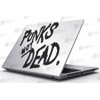 Laptop Matrica - Punks Not DEAD!